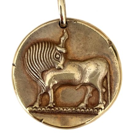 Van Cleef & Arpels Taurus Zodiac Pendant