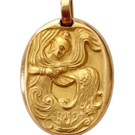 Cartier Zodiac Virgo pendant