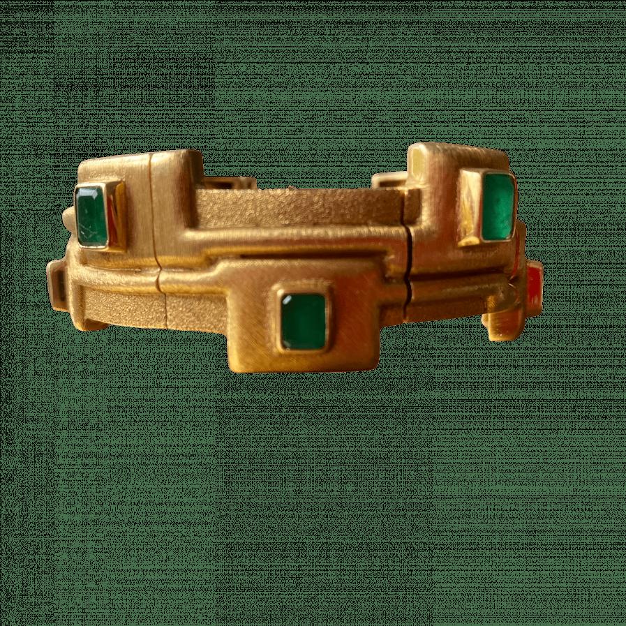 Burle marx emerald bracelet