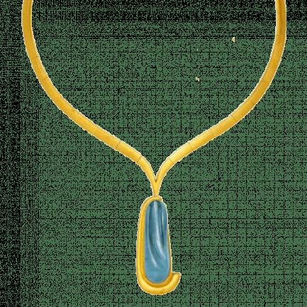 Burle Marx Aquamarine necklace