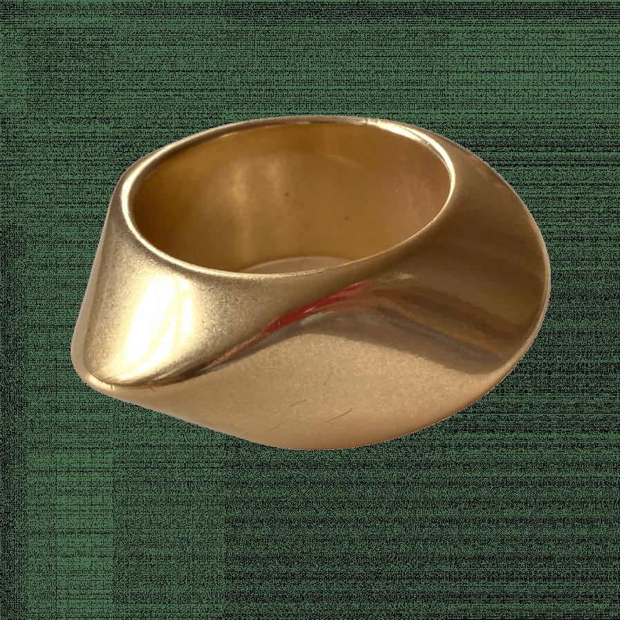 angela caputi golden bracelet