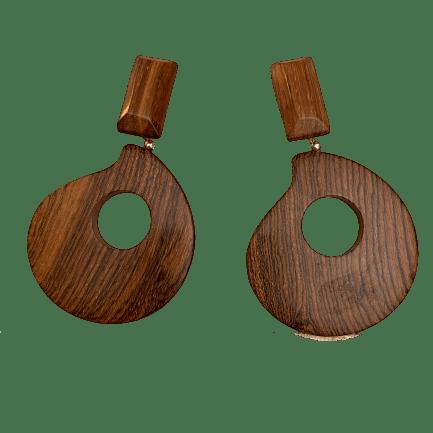 precious wood earrings